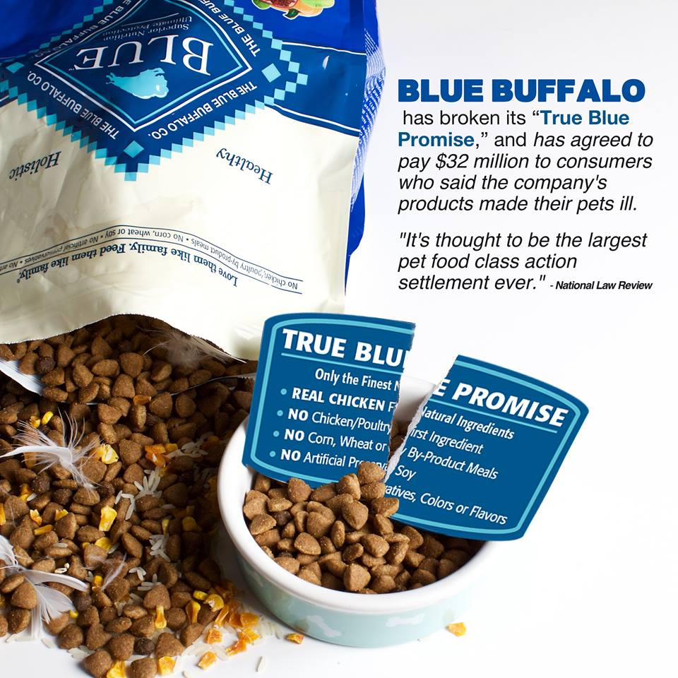 Blue Buffalo Dog Food Lawsuit