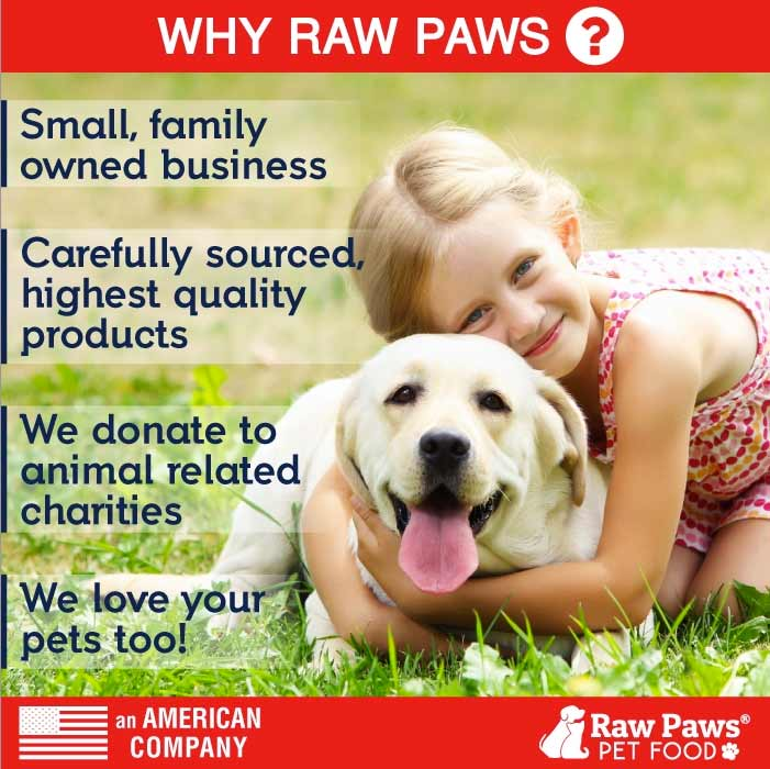 Raw Paws Pet Food, An American Company